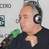 Ferran Adrià, en Más de uno.