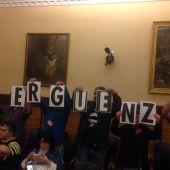 Pleno en el Ayuntamiento de Gijón (14-04-2016)