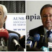 Luis Pineda y Miguel Bernad, responsables de Ausbanc y Manos Limpias