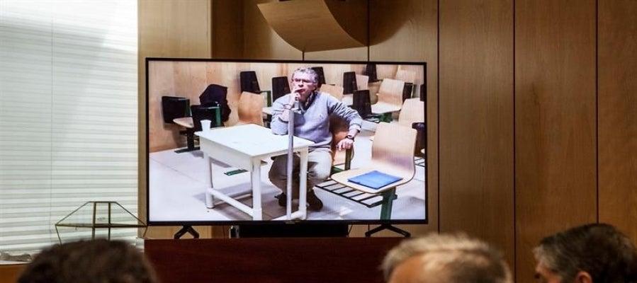 Francisco Granados declara por videoconferencia