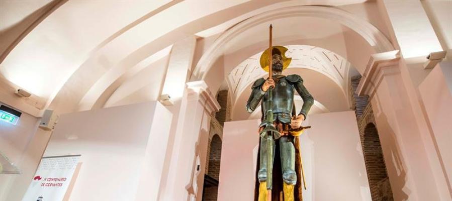 El Quijote de mazapán más grande del mundo
