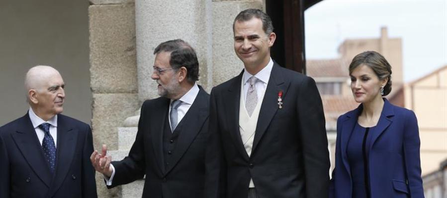 Entrega del Premio Cervantes 2016