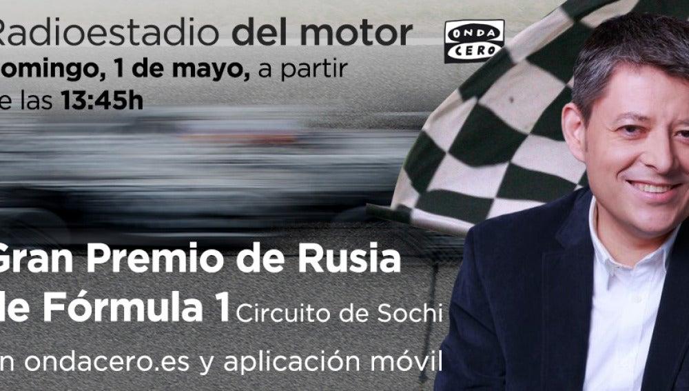 Gran Premio de Rusia en Radioestadio del motor
