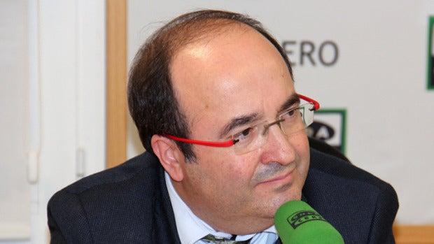"""Miquel Iceta: """"Prefiero negociar con independentistas a un gobierno de Rajoy siempre que renuncien al referéndum"""""""