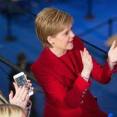 La líder del Scottish National Party (SNP), Nicola Sturgeon