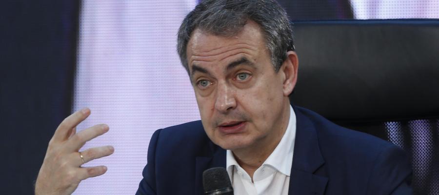 """José Luis Rodríguez Zapatero participa en el panel """"Los procesos electorales en la mirada de los presidentes"""""""