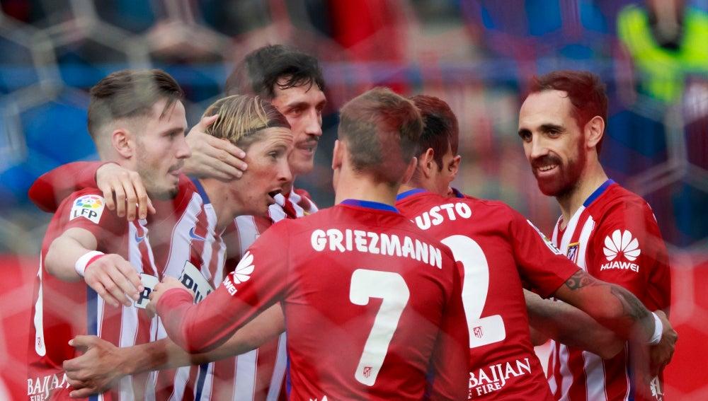 El Atlético celebra su jornada