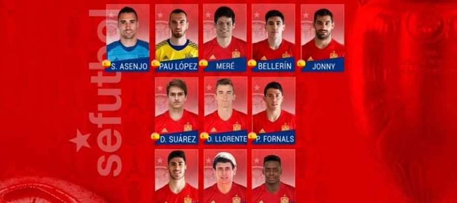 Del Bosque convoca a once jugadores para completar la lista provisional