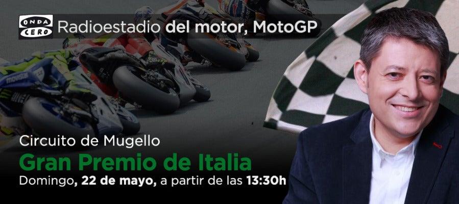 Gran Premio de Italia de MotoGP en Radioestadio del Motor