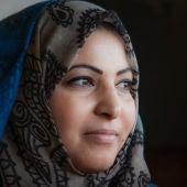 Ameera Ahmad Harouda, primera mujer periodista de la Franja de Gaza