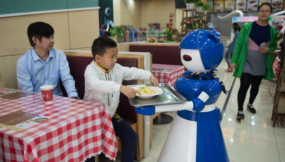 Robots camareros