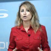 Begoña Carrasco, presidenta del Partido Popular de Castellón.