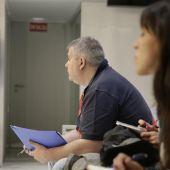 Pablo Casanova Freire durante el juicio en la Audiencia Nacional