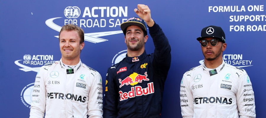 El australiano Ricciardo logra su primera 'pole' en Mónaco