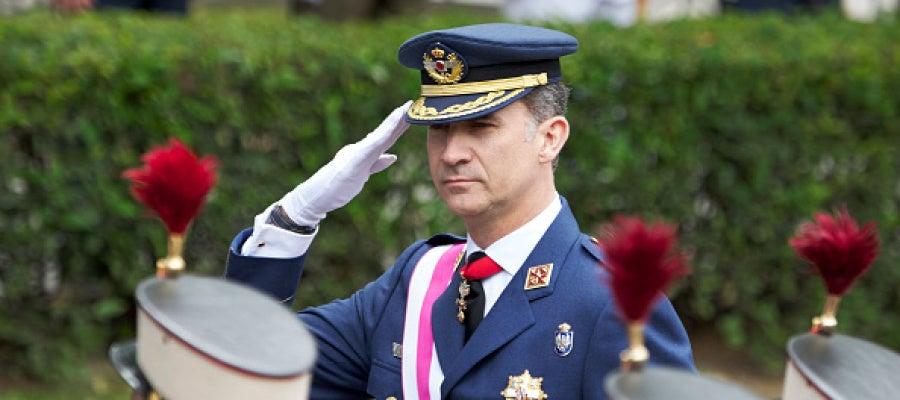 Felipe VI en el Día de las Fuerzas Armadas