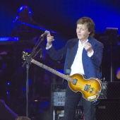 Paul McCartney en un concierto en Dinamarca