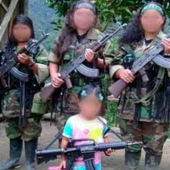 Niños guerrilleros en Colombia