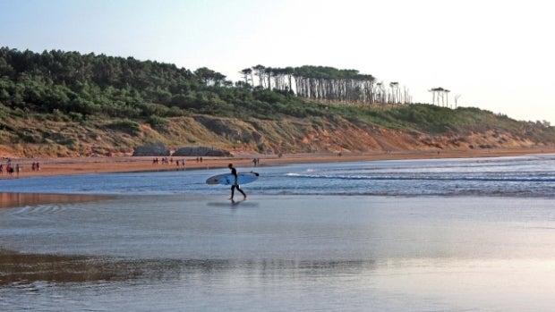 Playa de Somo, en Cantabria