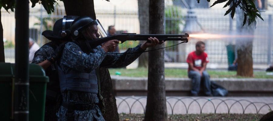 Agentes brasileños de seguridad