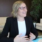 María José Salvador,  la Consellera de Obras Públicas y Vertebració del Territori.
