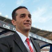 José Luis Oltra, entrenador del Córdoba