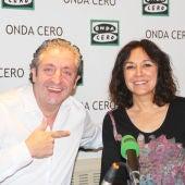 Josep Pedrerol e Isabel Gemio