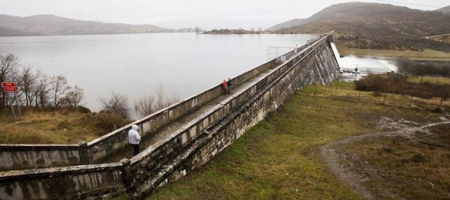 Vista del río Zadorra, en los alrededores de Vitoria