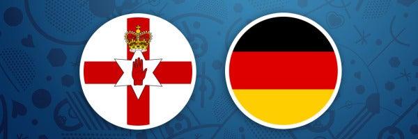 Irlanda del Norte - Alemania