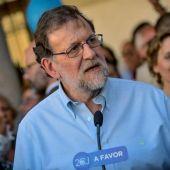 El presidente del Partido Popular y presidente del Gobierno en funciones, Mariano Rajoy