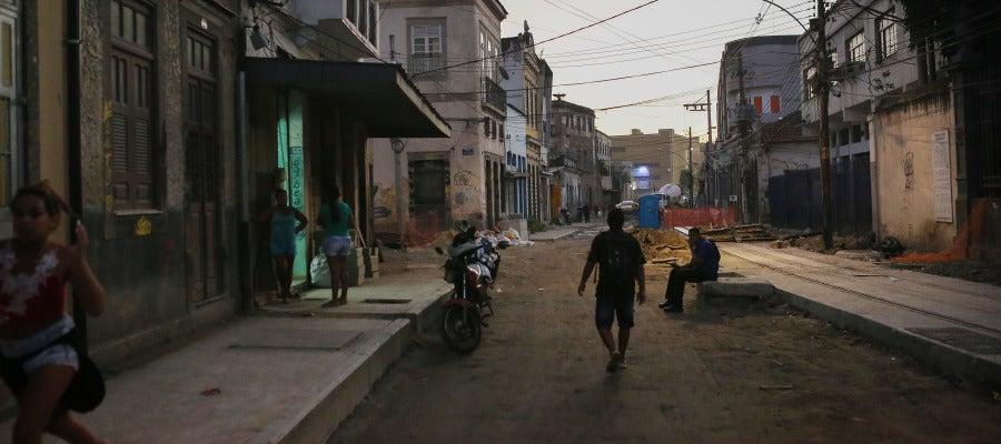 Una calle de Río de Janeiro