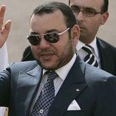 El rey de Marruecos, Mohamed VI.