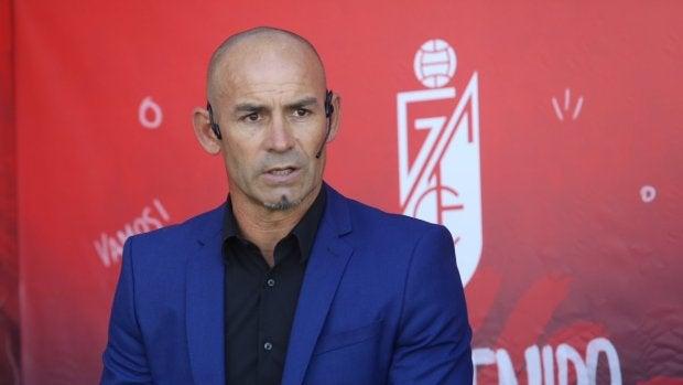 Paco Jémez, en su presentación como nuevo técnico del Granada