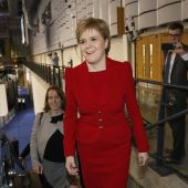 La ministra principal del Gobierno escocés, Nicola Sturgeon