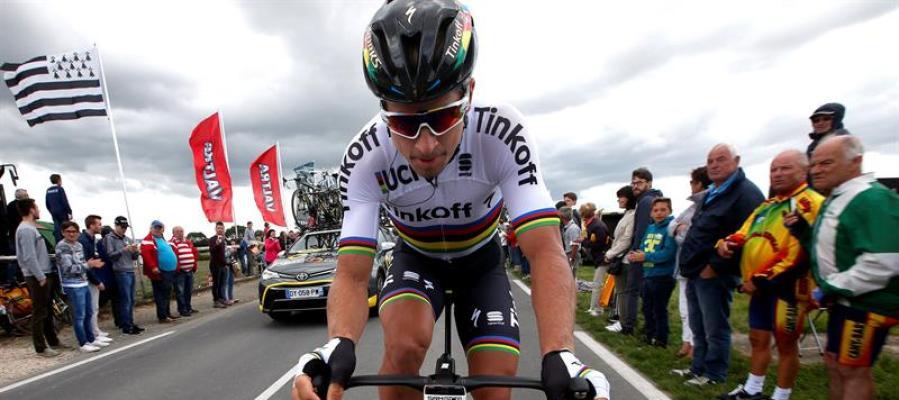 Peter Sagan en la segunda etapa del Tour de Francia 2016