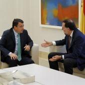 Aitor Esteban se reúne con Rajoy
