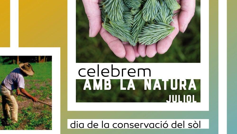 """Cartel """"Celebrem amb la natura"""""""