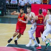 Felipe Reyes ante Lituania en Kaunas
