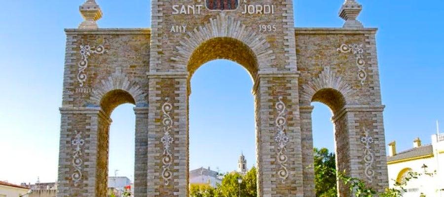 Puerta de Sant Jordi