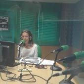 Lorena Varela, gerente de la ruta del vino de las Rias Baixas