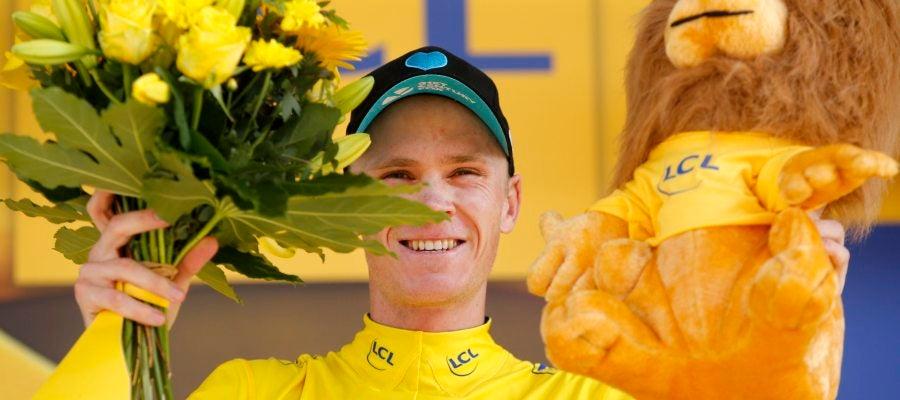 Froome, un día más como maillot amarillo del Tour de Francia