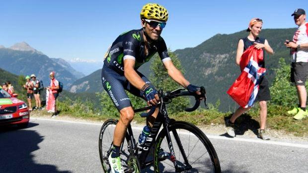 """Alejandro Valverde: """"Nairo está para lo que está, no lo íbamos a gastar a él"""""""