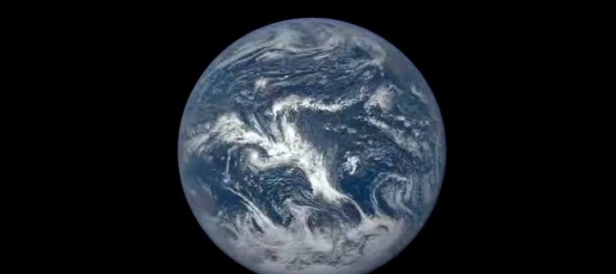 La Tierra iluminada