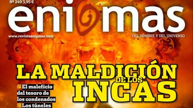 Revista Enigmas: La maldición de los Incas