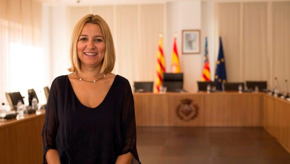Regidora d'Esports, Silvia Gómez.