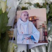 Una fotografía del sacerdote asesinado en Normandía, Jacques Hamel