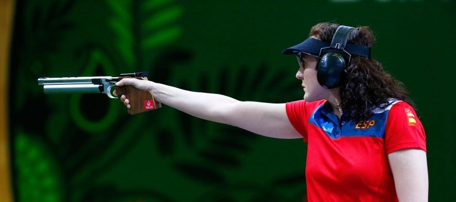 Sonia Franquet, en acción