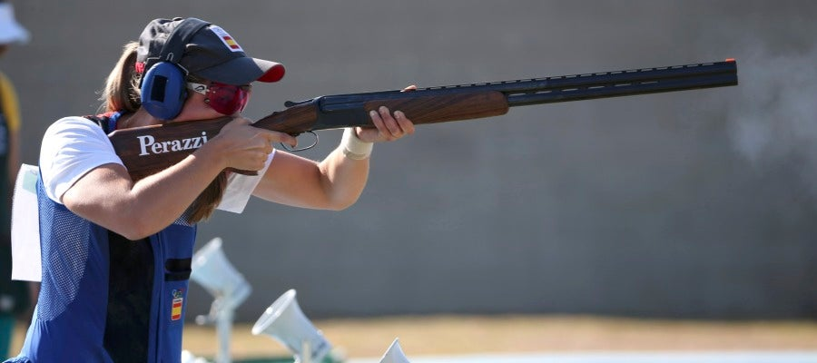 La tiradora Fátima Gálvez peleará por medalla en foso olímpico
