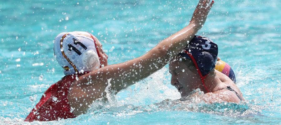 La selección española de waterpolo debuta con derrota en Río