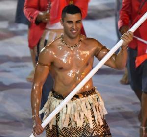Pita Taufatofua, el abanderado de Tonga en los JJOO