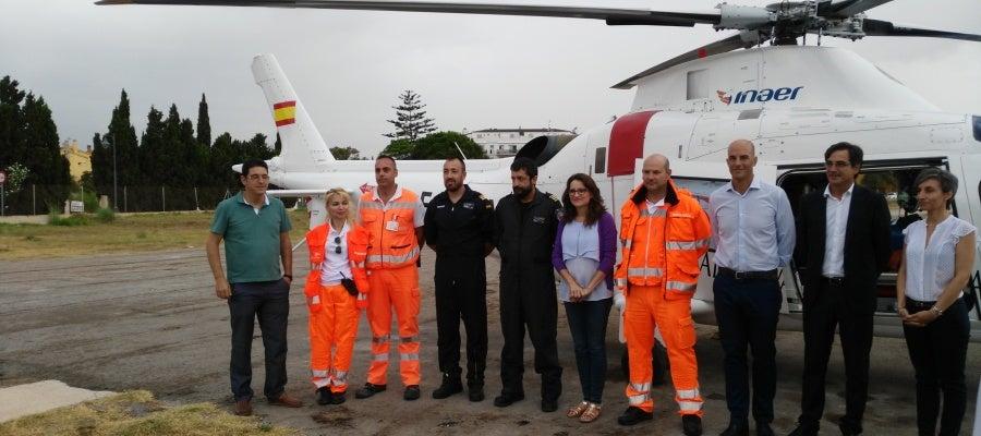 La vicepresidenta del consell ha conocido de cerca el trabajo de los servicios de emergencias